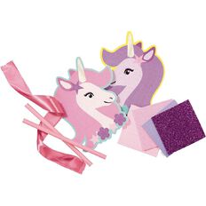 U-Do Make Your Own Unicorn Mosaic Wands 2 Pack