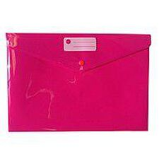 WS Document Envelope Single Dome Pink