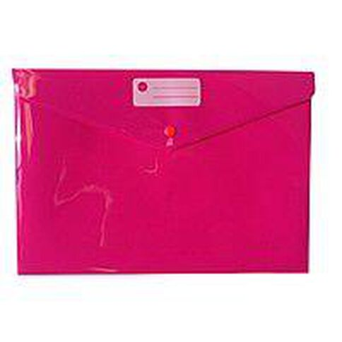 Impact Document Envelope Single Dome Pink