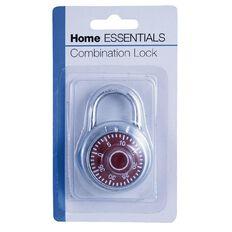 Home Essentials Combination Padlock Assorted