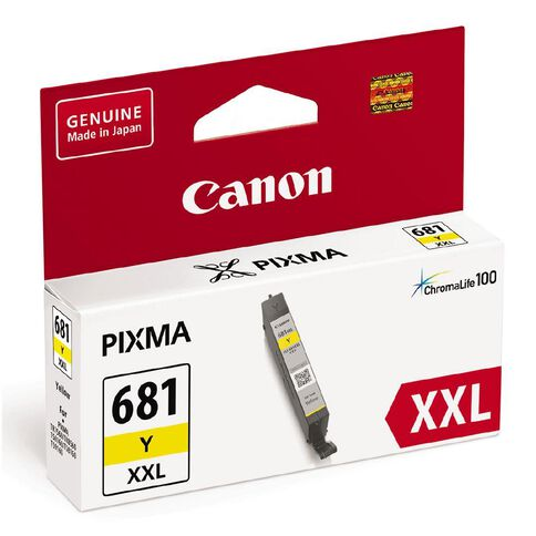 Canon CLI-681XXL Ink Yellow (800 Pages)