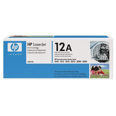 HP Toner 12A Black (2000 Pages)