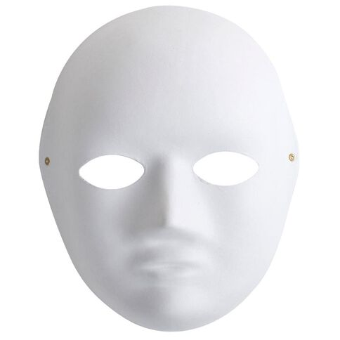 Made By Me Full Mask White