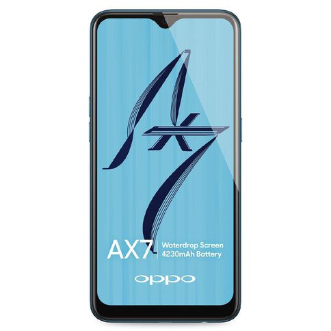 OPPO AX7 Blue
