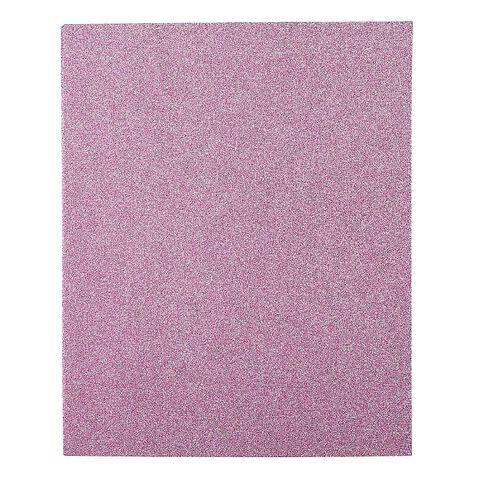 WS Book Cover Glitter Pink 45cm x 1m