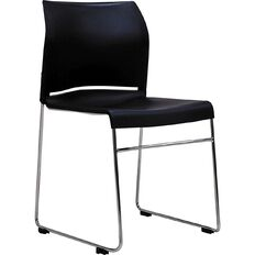 Buro Seating Envy Stacker Chair Black Black