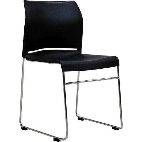 Buro Seating Envy Stacker Chair Black Black
