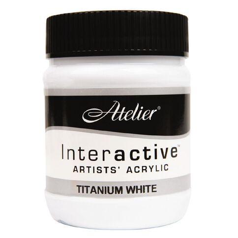 Atelier S1 250ml Titanium White White