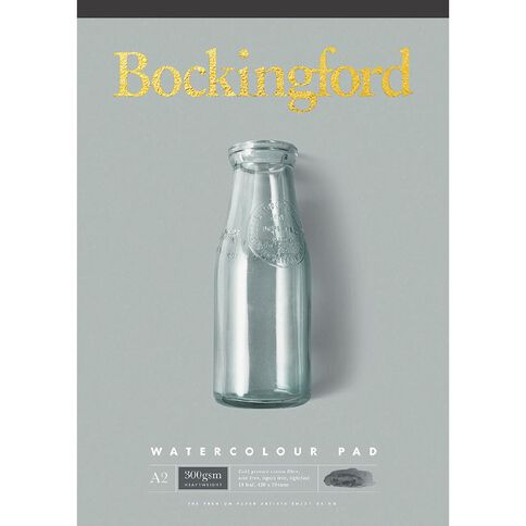 Bockingford Watercolour Pad 300 A2 Yellow A2