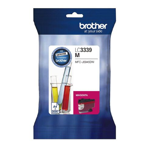 Brother Ink LC3339XLM Magenta (5000 Pages)