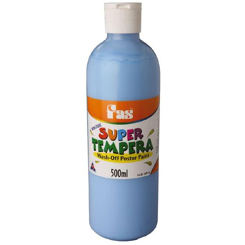 FAS Paint Super Tempera 500ml Cobalt Blue 500ml