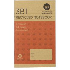 WS Recycle 3B1 Exercise Book