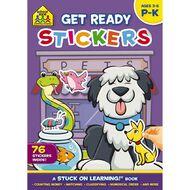 School Zone: Get Ready Sticker Books Get Ready