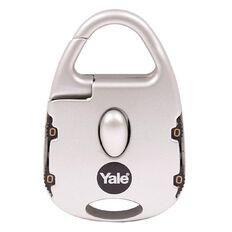 Yale Novelty Padlock Street Style 4 Digit Combination Silver