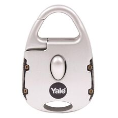 Yale Novelty Padlock Street Style 4 Digit Combination Silver