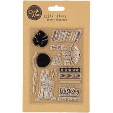 Craftwise Stamp Shapes Assorted 1 Sheet