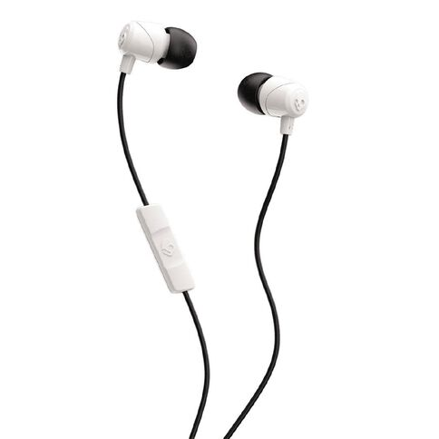 Skullcandy Jib Earbuds with Mic White