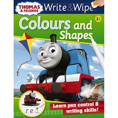 Thomas Write and Wipe Colours and Shapes