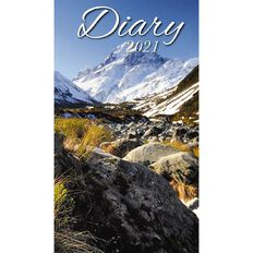 Bartel Bartel 2021 Pocket Diary 90x157mm Scenic