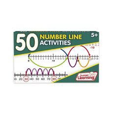 Junior Learning 50 Number Line Activities