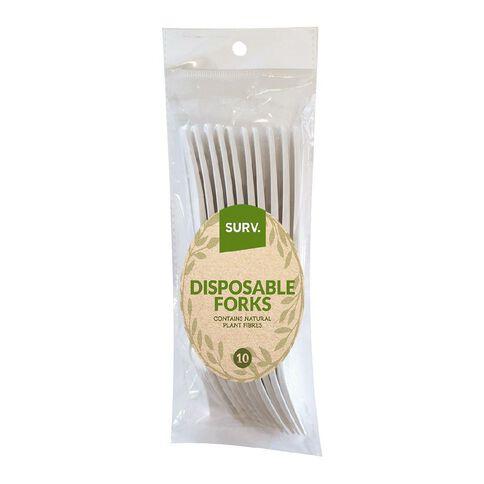 SURV. Eco Forks 10 Pack