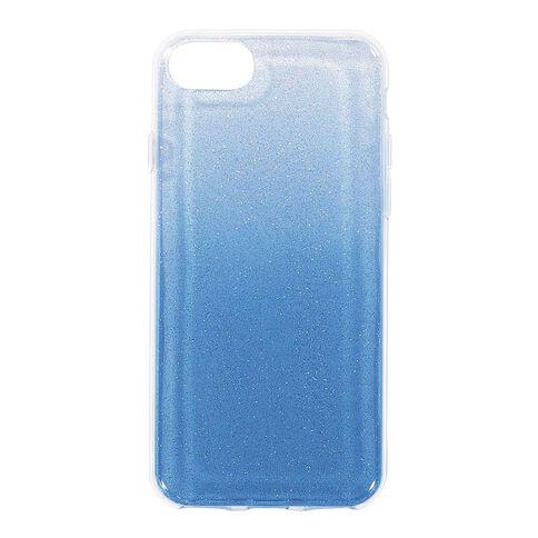 Tech.Inc iPhone 6/7/8 Ombre Glitter Case Blue