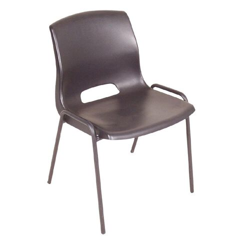 Workspace Cafe Stacker Chair Black