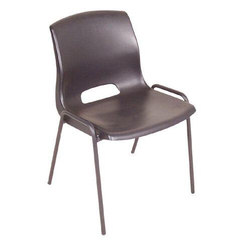 Workspace Cafe Stacker Chair Black Black