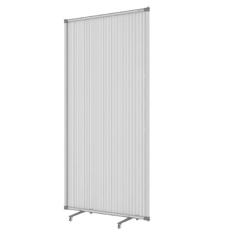 Boyd Visuals Free Standing Partition 1800H Grey Grey