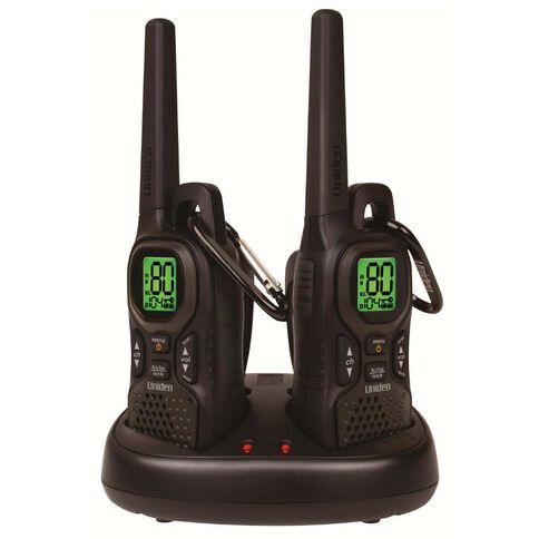 Uniden Uh515-2 Twin Pack UHF Radio Black