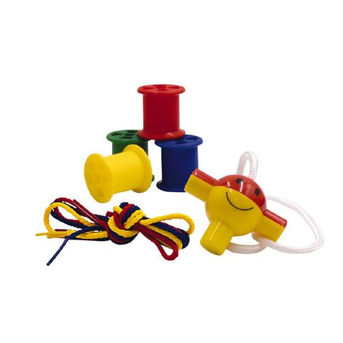 Learning Tool Box Cotton Reels In Tub 122pieces