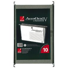 Accoflex Suspension Files Accoflex IV Foolscap Bag of 10 Green