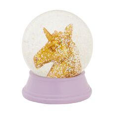 Kookie Unicorn Snow Globe