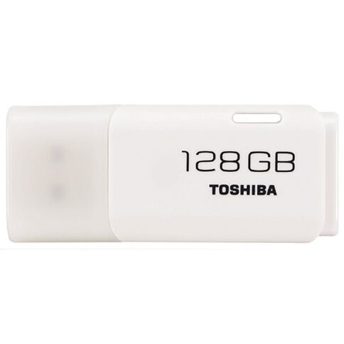 Toshiba 128GB USB Flash Drive White