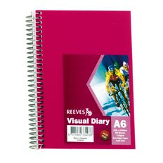Reeves Visual Diary A6 Pink