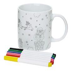 Wonderland Colour Your Own Christmas Mug 10.5cm