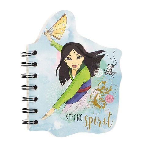 Disney Princess Notepad Blue Light A6