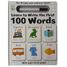 Wipe Clean: Learn to Write the First 100 Words