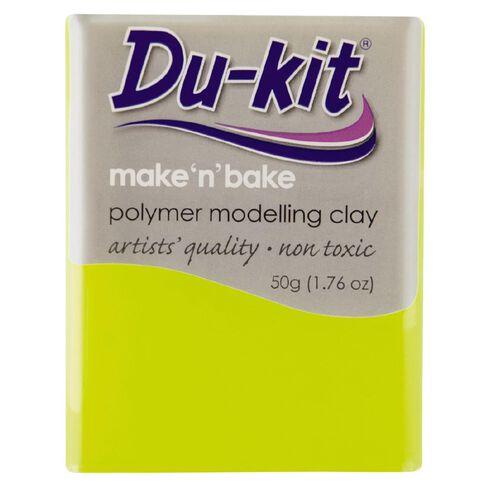 Du-kit Clay Fluoro Yellow 50g