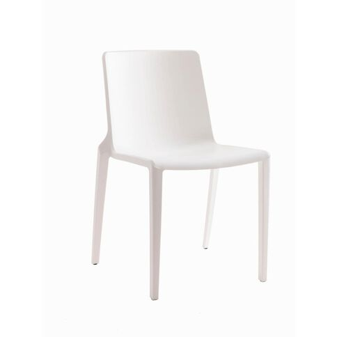 Buro Seating Meg Stacker Chair White White