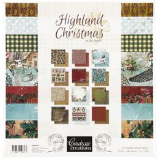 Couture Creations Paper Pad 12in x 12in 24 Sheet