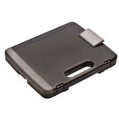 Office Supply Co Portable Storage Clipboard Grey/Black A4
