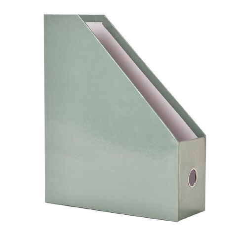 Uniti Colour Pop Magazine File Holder Green Light