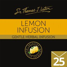 Lipton Sir Thomas Tea Bags Lemon 25 Pack