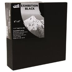 DAS 1.5 Exhibition Canvas 4 x 4in Black Black
