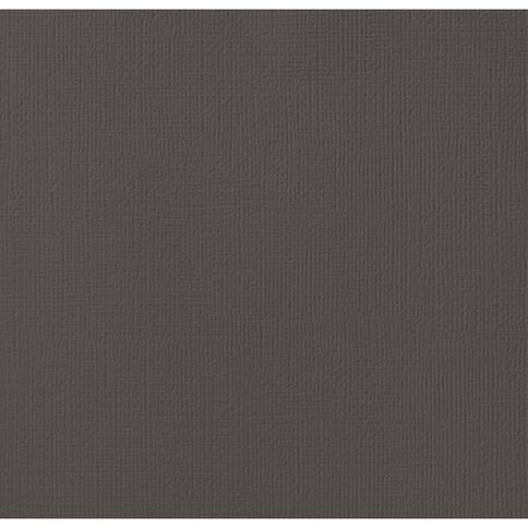 American Crafts Cardstock Textured Black 12in x 12in
