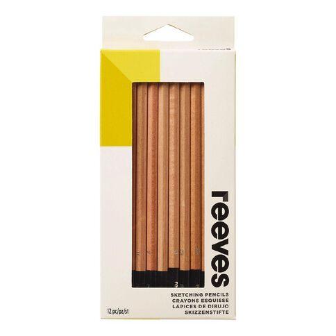 Reeves Sketch Pencil Set 12 Piece