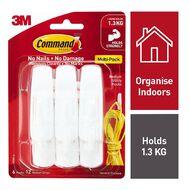 Command Hooks Value Pack White Medium