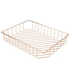Uniti Tray Basket Rose Gold