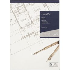 Uniti Platinum Tracing Pad A4 20 sheets